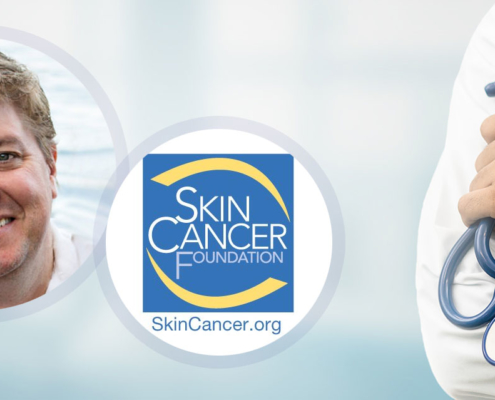 Dr Michael Ebertz commitment to Skin Cancer Foundation